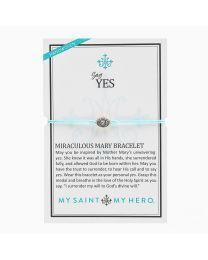 Say Yes Miraculous Mary Bracelet MINT NEW COLOR My Saint My Hero