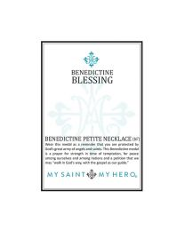 Benedictine Petite Necklace - Silver-Plated