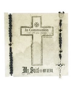 In Communion - Boy's Rosary & Bracelet Set